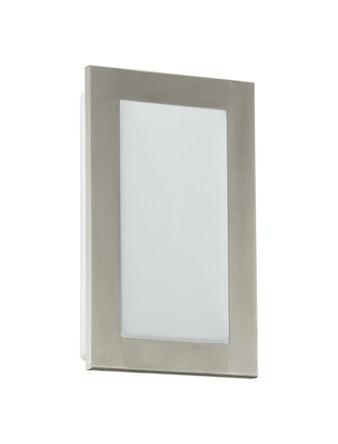 Vägglampa Eglo Pasola Led 170X280X90mm Rostfri/Vit