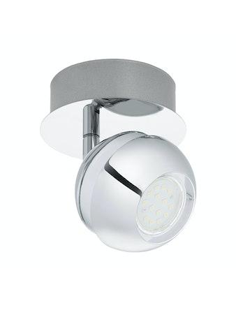 Vägglampa Eglo Nocito 1 GU10 4W 11cm Krom/Vit