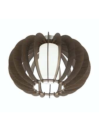 Plafond Eglo Stellato 3 E27 60W 40cm Brun
