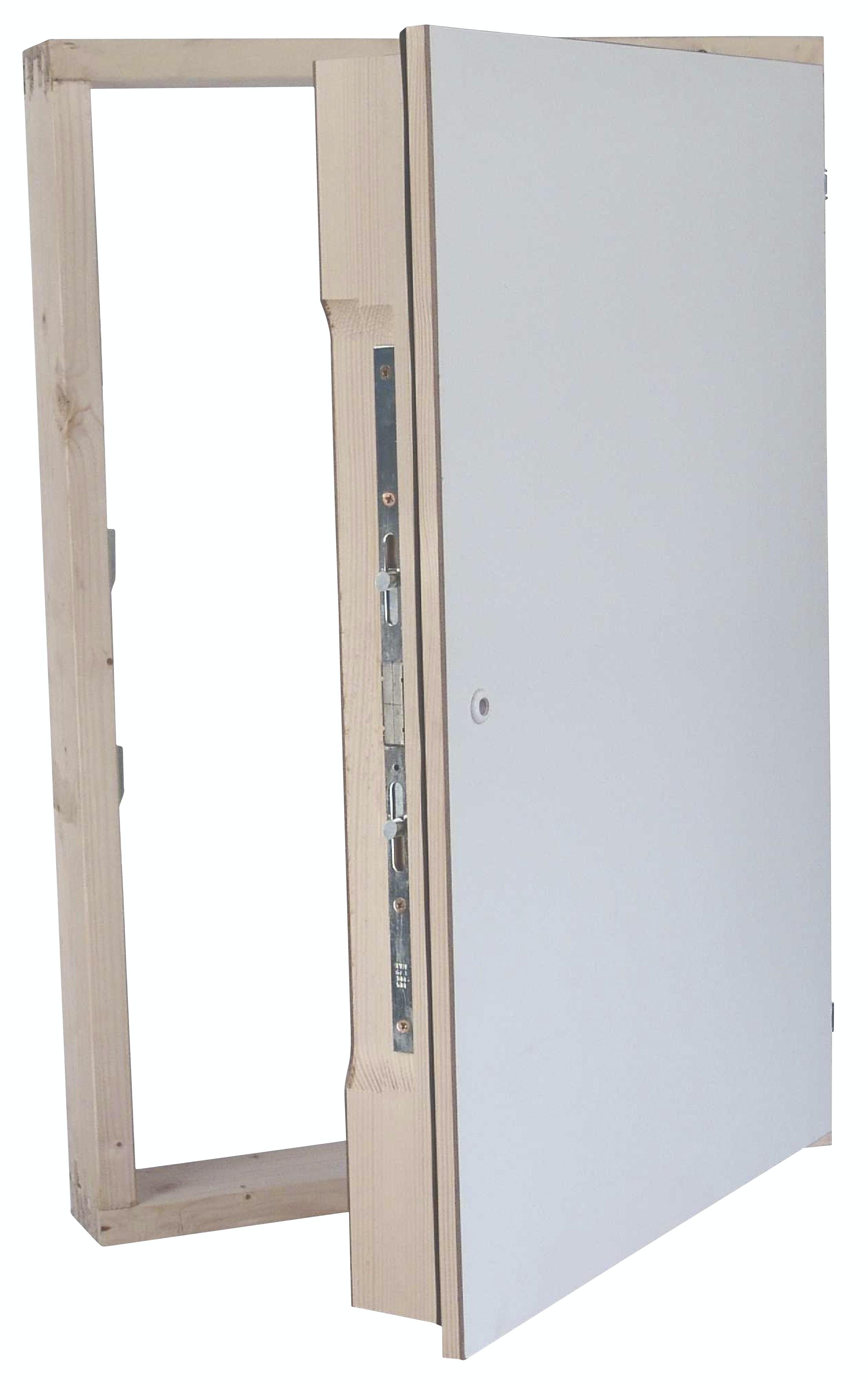 Lucka Byggera Safe För vägg & Tak Ei30 540x790 Mm