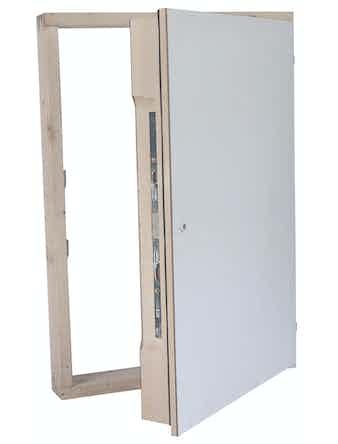 Tak-/Vägglucka Byggera Safe Ei30 540x1090 mm