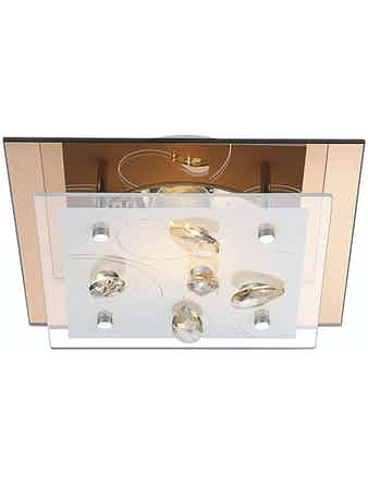 Светильник настенно-потолочный Globo AYANA 40412,1x40W