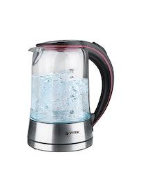 Чайник электрический Vitek VT-7009 1,7 л стекло