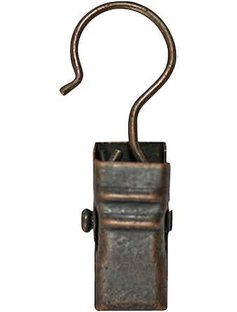 Зажим лля колец D28 бронза 10 шт металл