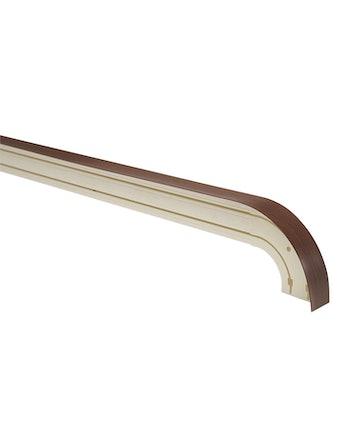 Карниз 441/2О орех СТАНДАРТ Оптима 200 см