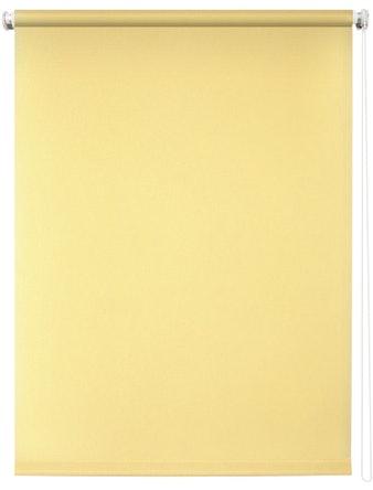Штора рулонная 60х175 Плайн светло-желтый