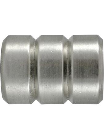 Наконечник D25 Ост цилиндр-2 сталь 2 шт