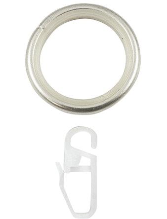 Кольцо D20 Ост с крючком 10 шт сталь