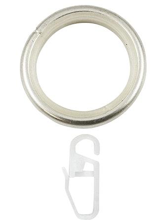 Кольцо D25 Ост с крючком 10 шт сталь