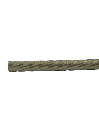 Штанга D25 Ост витая бронза 240 см