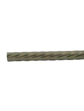 Штанга D16 Ост витая бронза 240 см