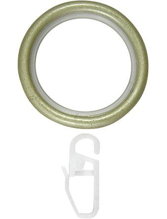 Кольцо D20 Ост с крючком шампань 10 шт
