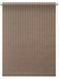Штора 7704 Рулонная 120х175 Плаза коричневый