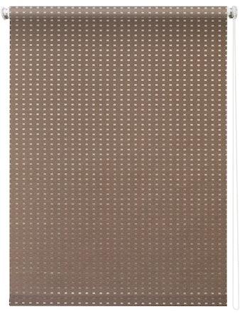 Штора 7704 Рулонная 100х175 Плаза коричневый