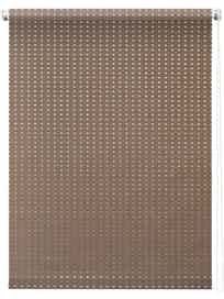 Штора 7704 Рулонная 060х175 Плаза коричневый