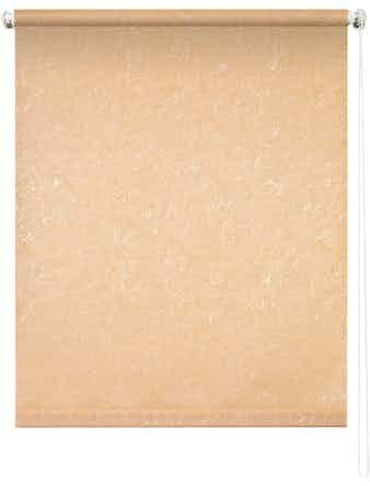 Рулонная штора 7658, 50 х 175 см, фрост персик
