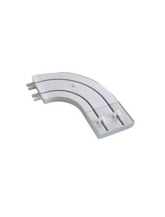 Боковина круглая пластмассовая для двухрядной шины 20 см 2 шт