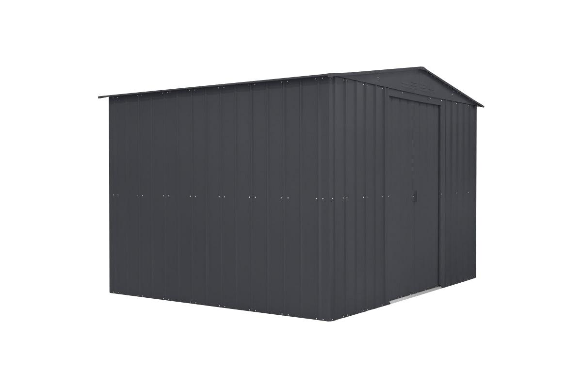 Förråd Gop Darwin Antracit Sadeltak 2950x2370mm