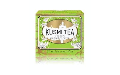 Kusmi Tea Greeb Ginger-Lemon Vihreä Pussitee 44g