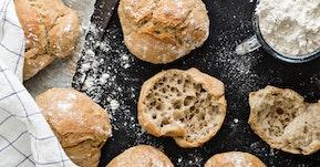 Leipää omasta uunista