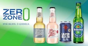 Alkoholittomia vaihtoehtoja