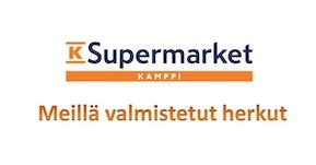 K-Supermarket Kampissa valmistetut herkut