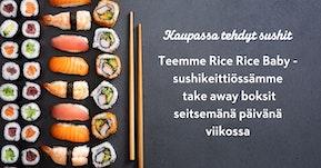 Rice Rice Baby sushit