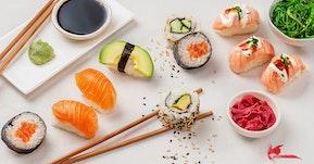 Tuoretta sushia -  joka päivä