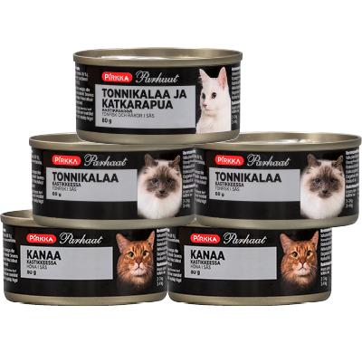 Pirkka Parhaat Parhaat kissan annosrasiat 80 g