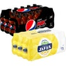 Pepsi Max tai Hartwall Jaffa Ananas sokeriton virvoitusjuoma 0,33 l 24-pack