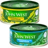 JOHN WEST Tonnikalapalat vedessä ja öljyssä 145/95-102 g