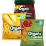 ORGANIX Luomu soseet 100-190 g ja naksut 15-20 g