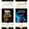 LINDT Excellence suklaalevyt 100 g
