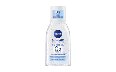NIVEA 125ml MicellAIR SKIN BREATHE® Oil-Free Gel Make-Up Remover -silmämeikinpuhdistusaine#
