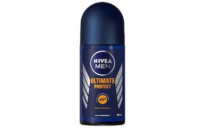 NIVEA MEN 50ml Ultimate Protect Deo Roll-on -antiperspirantti