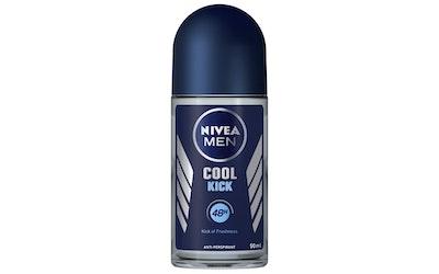 NIVEA MEN 50ml Cool Kick Deo Roll-on -antiperspirantti