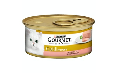 Gourmet Gold Lohta Mousse 85g kissanruoka