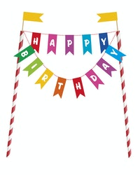 Kakunkoriste Happy Birthday viirinauha