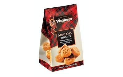 Walkers mini oat biscuits 125g
