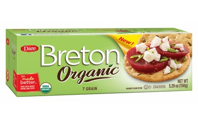 Breton 150g voileipäkeksi Luomu