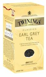 Twinings tee 200g earl grey