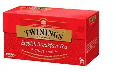 Twinings tee 25x2g English Breakfast