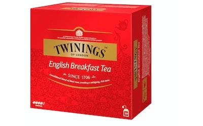 Twinings tee 50x2g English breakfast