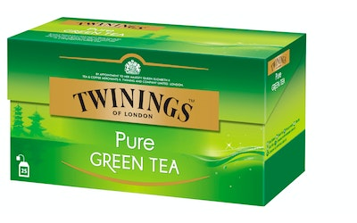 Twinings vihreätee 25x2g pure green