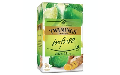 Twinings 20x1,5g Infuso ginger lime tee