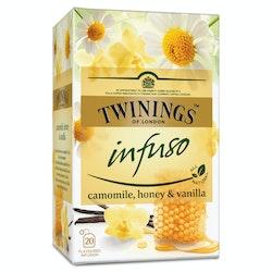 Twinings 20x1,5g Infuso camomile honey vanilla tee