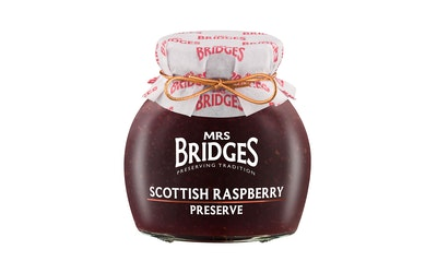 Mrs Bridges skotlantilainen vadelmahillo 340g