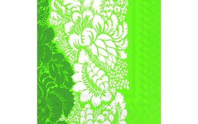 Marimekko liina 33cm 20kpl Ananas vihreä