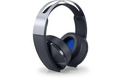 Sony PS4 Wireless Headset Platinum langaton pelikuuloke - kuva