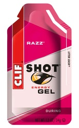 Clif Shot Razz Energiageeli vadelma 34 g